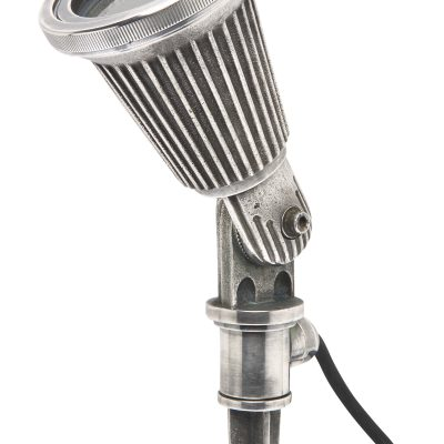 Prikspot messsing zilver gu10 230 volt tuinextra