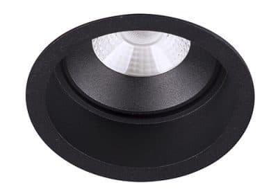 Inbouwarmatuur plafond spot BR6010 led zwart