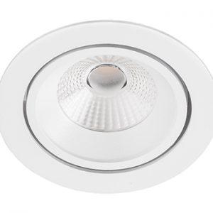 Inbouwarmatuur plafond BR6108 wit led kantelbaar 230 volt