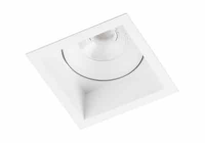 Berla BR6215 inbouwarmatuur plafond led richtbaar TuinExtra vierkant wit