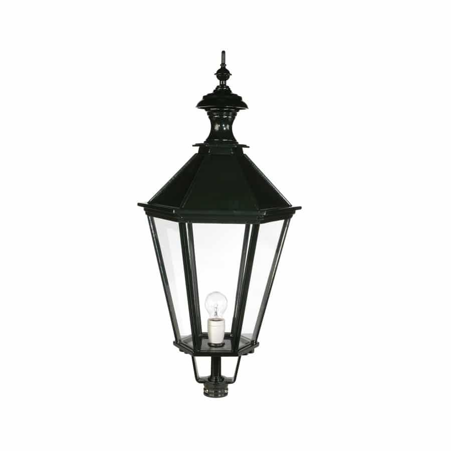 Kap zeskant oud hollands OH563 groot donkergroen buitenlampen