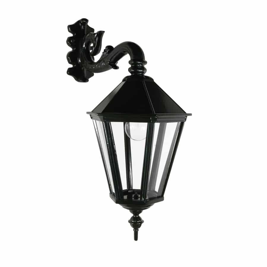 OH524 klassieke wandlamp hang oud hollandse donkergroene buitenverlichting
