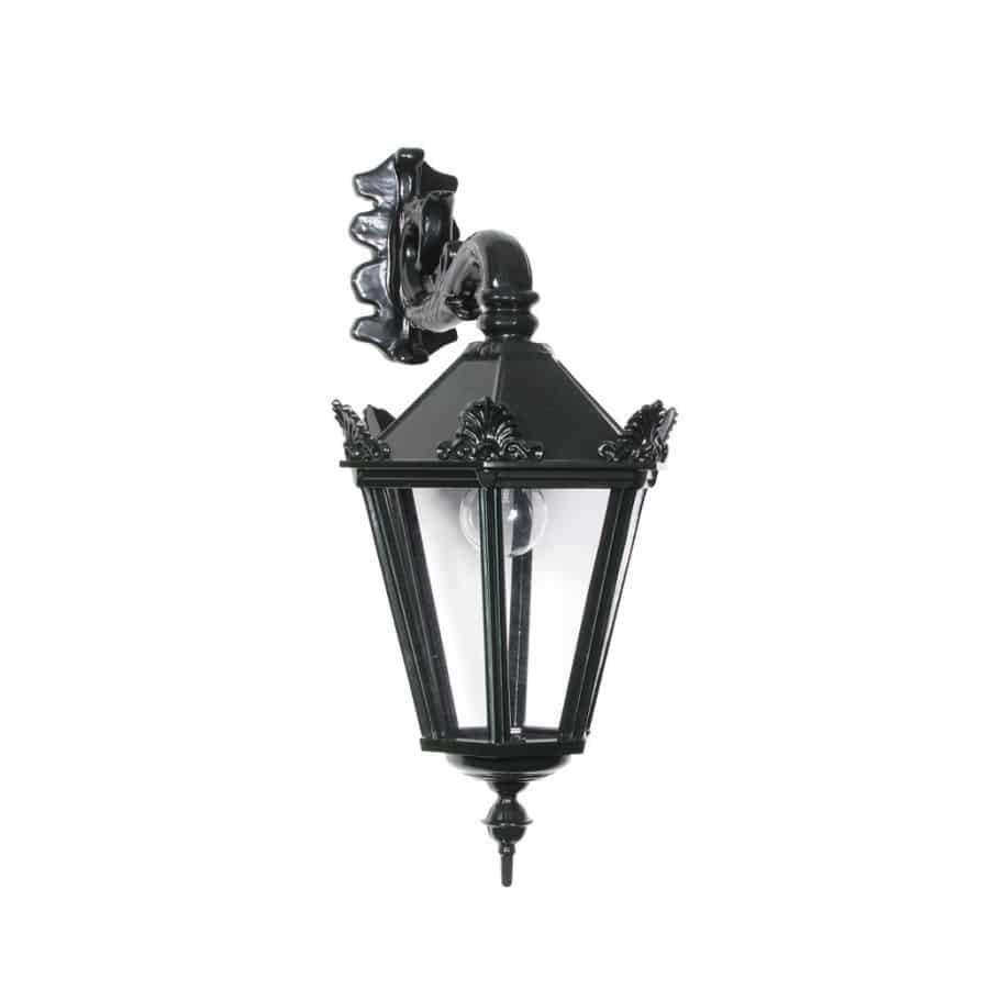OH525 buitenlamp klasseik donkergroen oud hollandse wandlamp met kroontjes