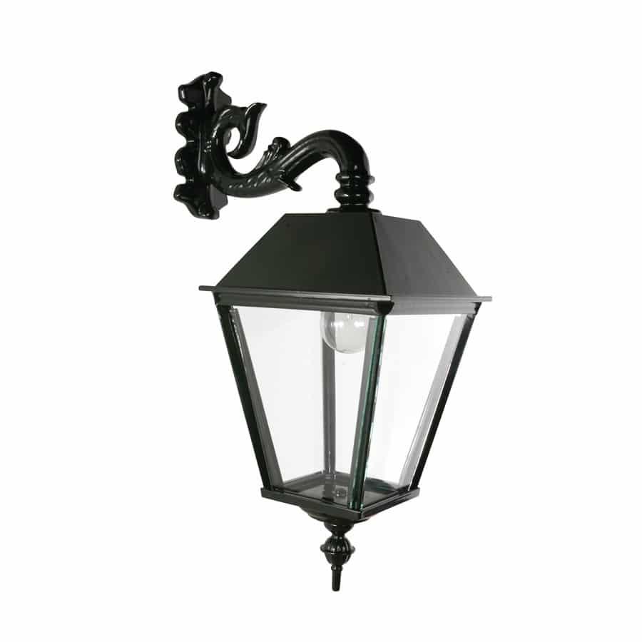 OH594 wandlamp vierkant oud hollandse buitenlamp donkergroen