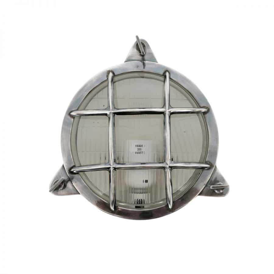 Clip maritiem buitenlamp zilver finish tuinextra
