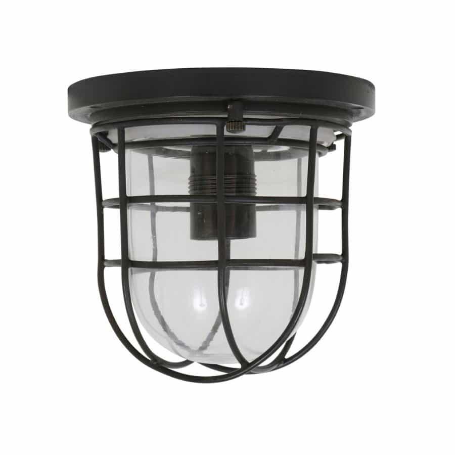 Hob plafondlamp zwart E27 tuinextra