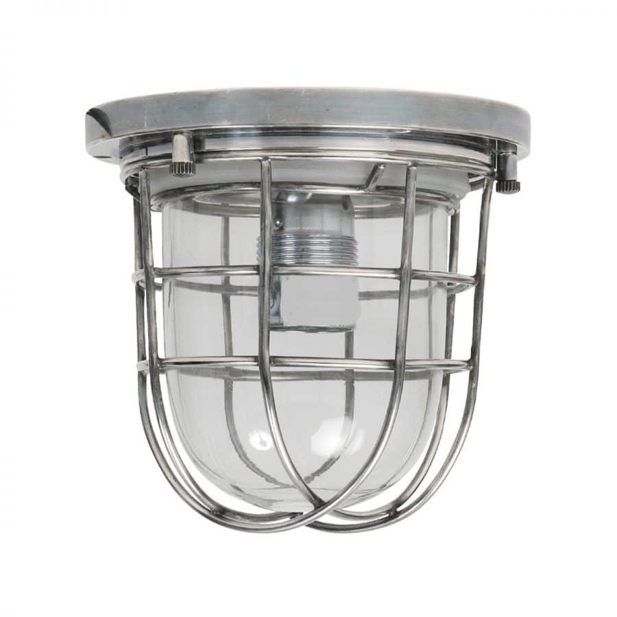 Hob plafondlamp zilver E27 tuinextra