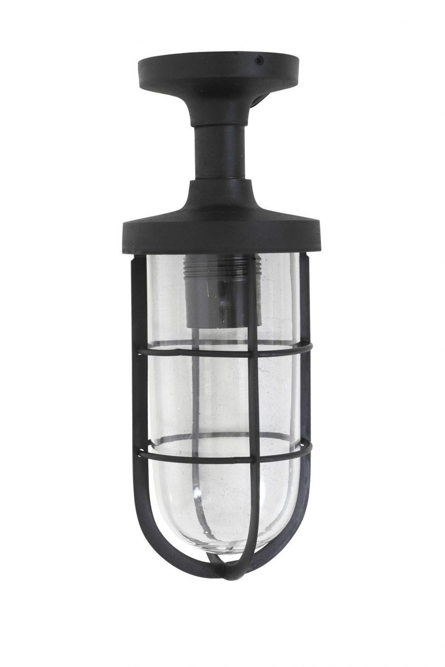 Town plafondlamp zwart tuinextra buitenverlichting