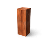Brievenbus Collu cortenstaal pakketten TuinExtra roest