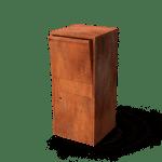 Giftu geroba tuinextra brievenbus vrijstaand cortenstaal brievenbus