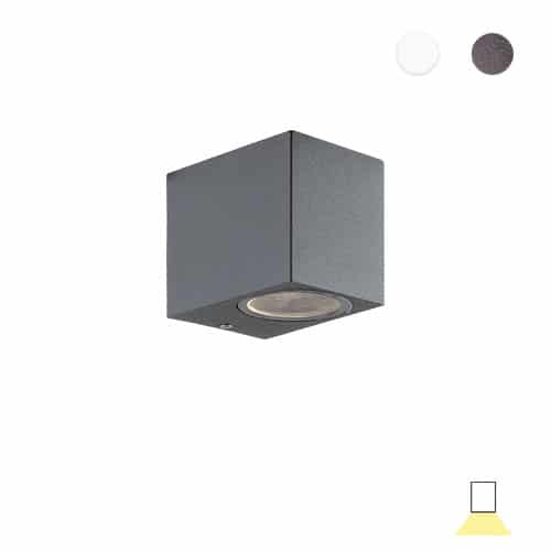 Tilos A1 buitenlamp tuinextra downlight wandlamp antraciet grijs GU10