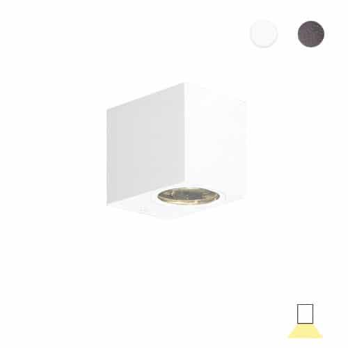 Tilos A1 buitenlamp tuinextra downlight wandlamp wit GU10